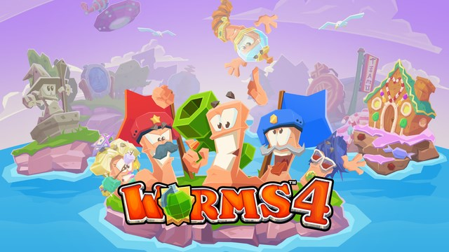 worms-4 Worms 4 é lançado para iPhone e iPad