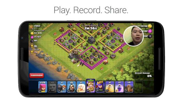 Google-Play-Games-Recording Google Play Games é atualizado e agora permite que você grave gameplays
