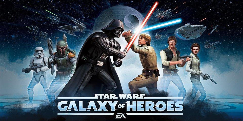 Star-Wars-Galaxy-of-Heroes-Android-Game [E3 2016] Ganhe dinheiro para a caridade jogando Star Wars Galaxy of Heroes