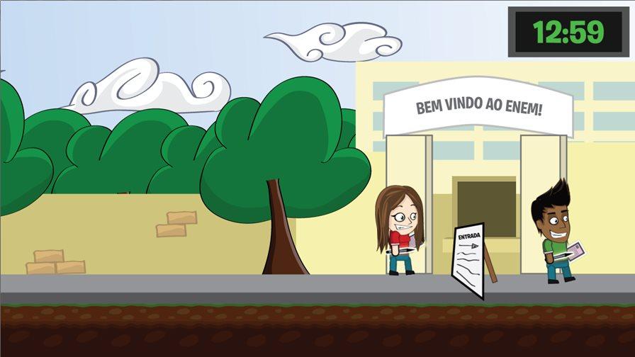 atrasados-enem-2015 Jogo para Android faz sátira dos atrasados do ENEM 2015