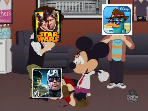 """disney-south-park1 Disney """"mata"""" mais de 40 jogos da App Store e Google Play"""