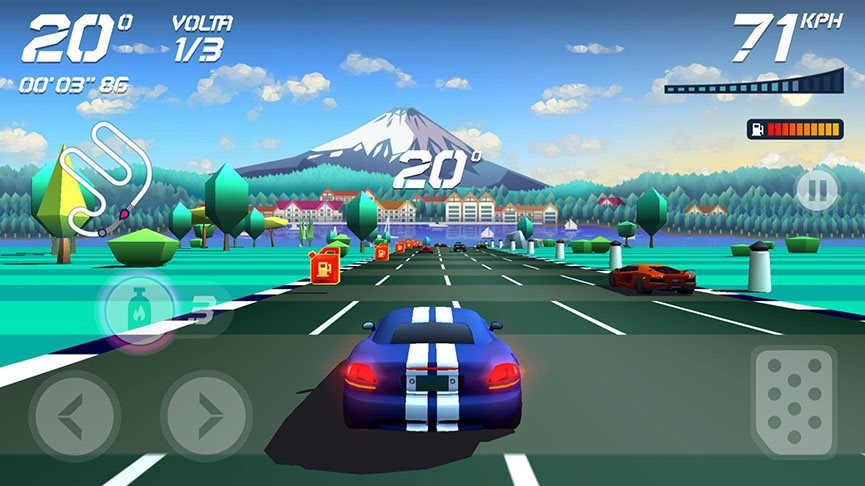 horizon-chase-2 Analisamos Horizon Chase, o sucessor de Top Gear para Android e iOS