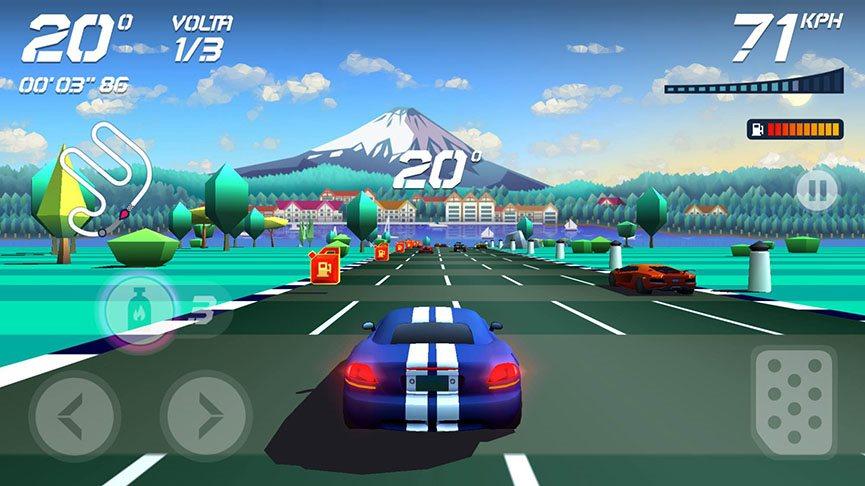 horizon-chase-2 Analisamos Horizon Chase, o sucessor de Top Gear para Android e iOS