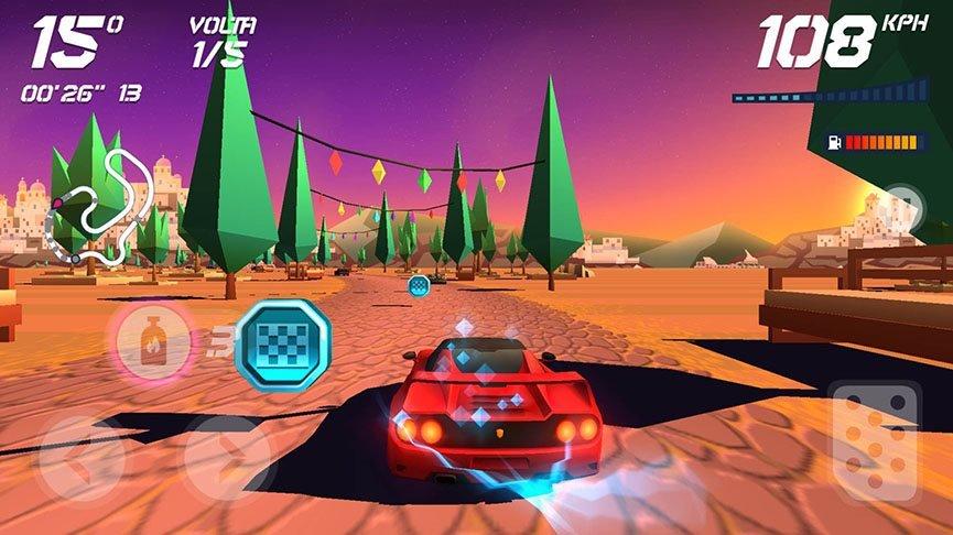 horizon-chase-9 100 Melhores Jogos OFFLINE para iOS (de todos os tempos)