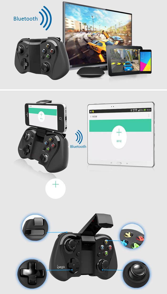 ipega-pg-9052-2 Ípega 9052: Conheça o novo controle joystick para Android e iOS