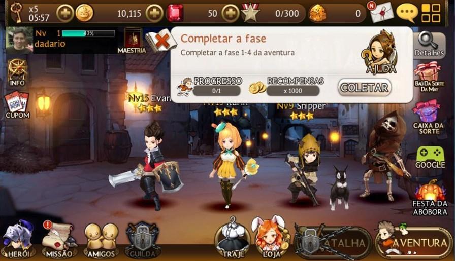 sete-cavaleiros-android-1 Sete Cavaleiros é um RPG fofinho e gratuito para Android e iOS