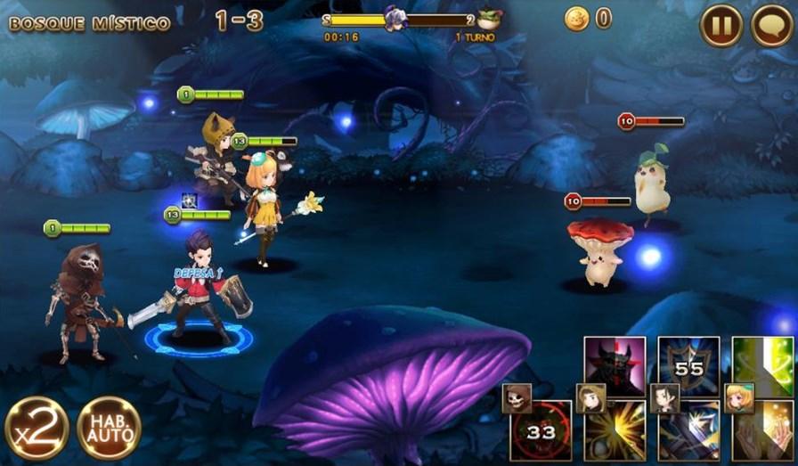 sete-cavaleiros-android-2 Sete Cavaleiros é um RPG fofinho e gratuito para Android e iOS