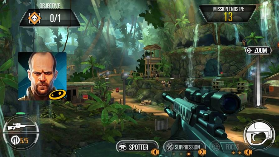 sniper-x-jason-staham Jason Statham será o seu assassino particular neste jogo para Android e iOS