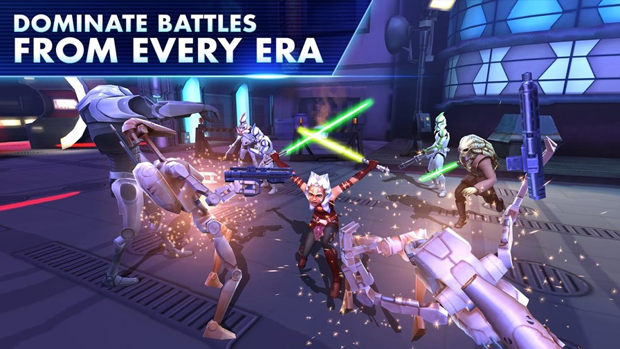 "star-wars-galaxy-heroes Star Wars: Galaxy of Heroes é lançado ""suavemente"" (Android e iOS)"