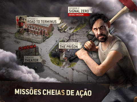 the-walking-dead-no-man-land-2 The Walking Dead: No Man's Land chega ao iPhone, iPod Touch e iPad