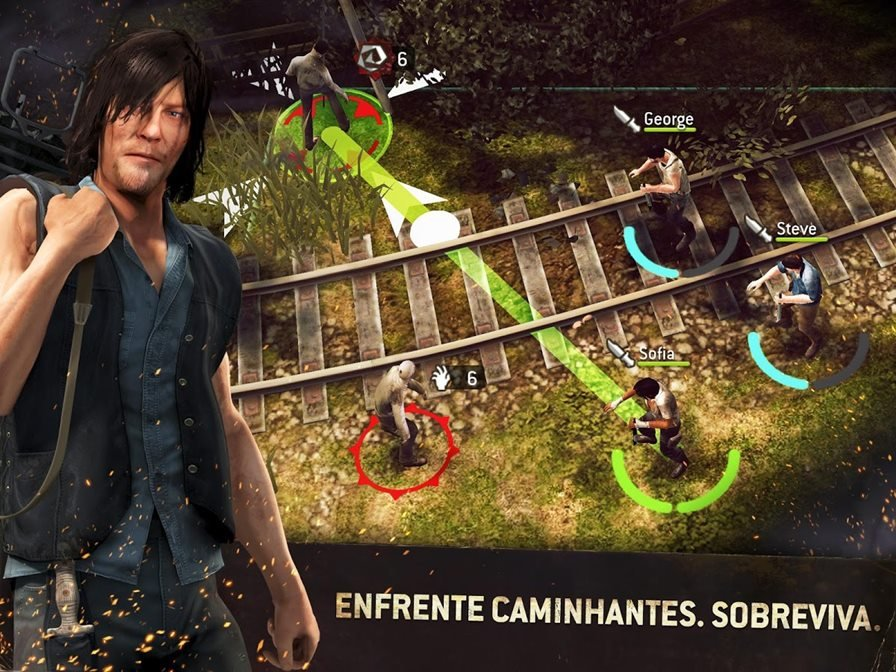 walking-dead-no-mans-land-android The Walking Dead No Man's Land para Android ganha pré-registro