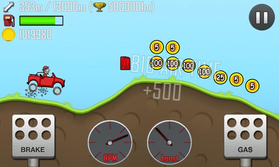 Hill-climb-racing 10 Jogos Leves e Offline para Android #1