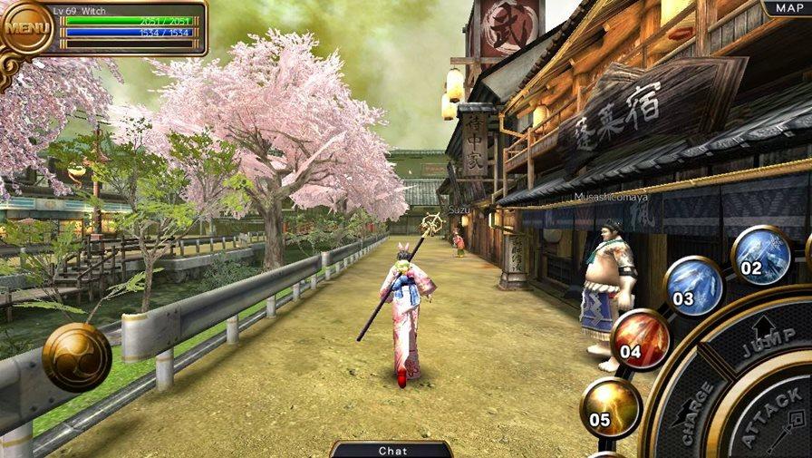 Izanagi-1 Izanagi é um jogo 3D de MMORPG imperdível para Android e iOS