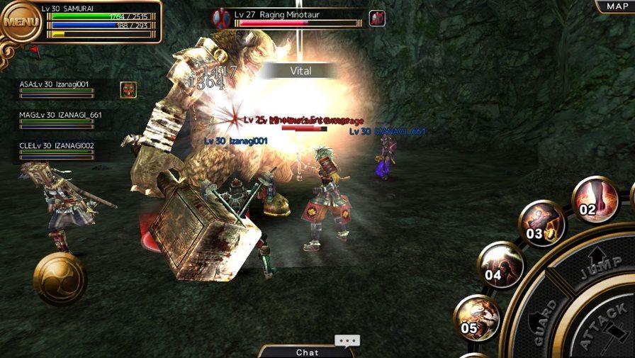 Izanagi-4 Izanagi é um jogo 3D de MMORPG imperdível para Android e iOS