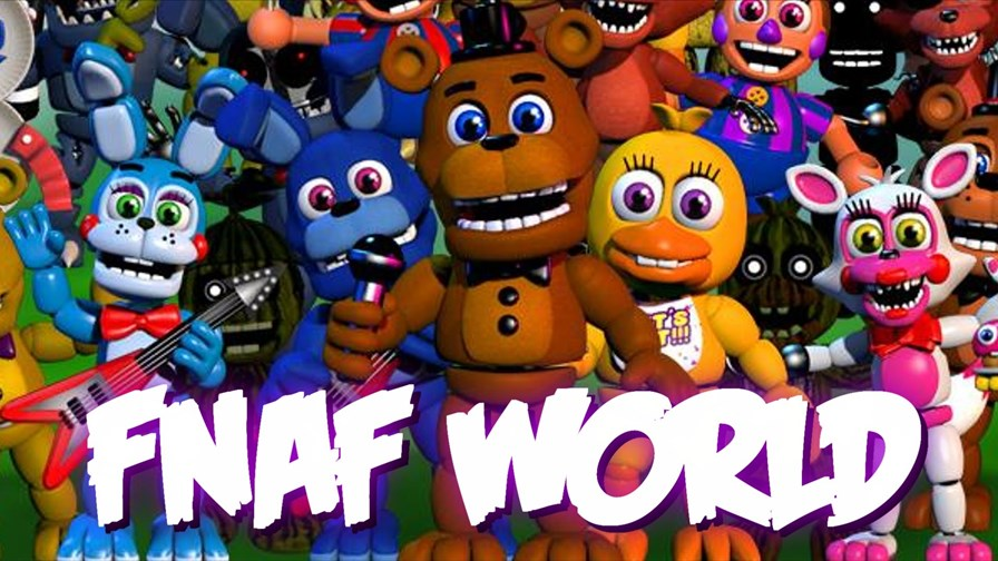 fnaf-world-android-ios Five Nights At Freddy's World: nada de terror neste trailer fofinho e bem humorado