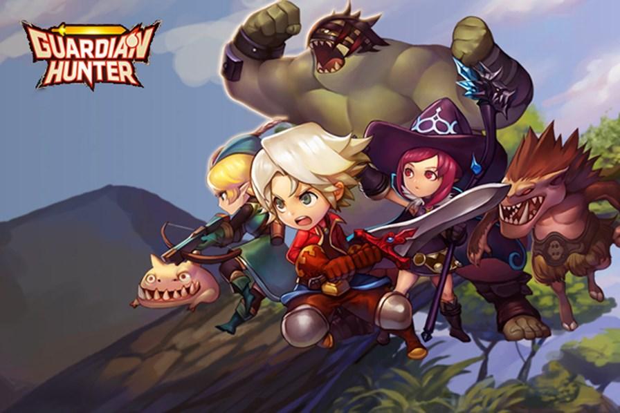 guardian-hunter-1 Guardian Hunter é um RPG online com muita ação e personagens fofinhos