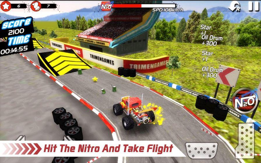 monstertruckstuntracer-3 Jogo Offline para Android Grátis: Monster Truck 4x4 Stunt Racer
