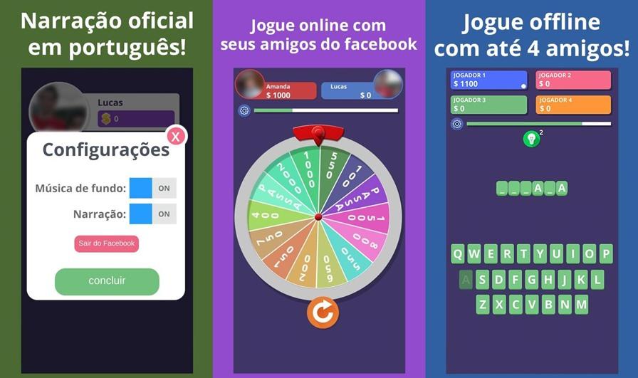 roda-a-roda-game-show-2 Roda a Roda Game Show é o único jogo do gênero que é Online e Offline (Android)