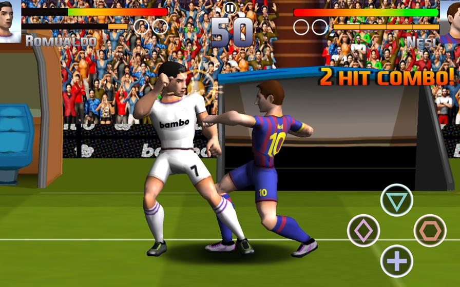 Football-Players-Fight-Soccer Football Players Fight Soccer é o jogo para Android mais doido de 2015