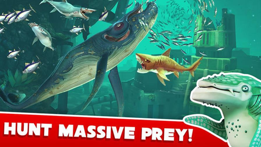 angry-shark-world-android-ios Hungry Shark World: sequência do popular game para celular está ainda mais absurda