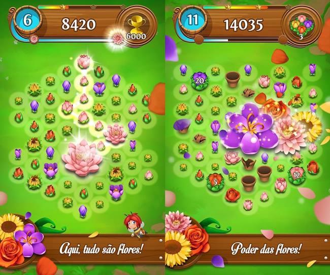 blossom-blast-saga 25 Melhores Jogos Offline Grátis para Android #4