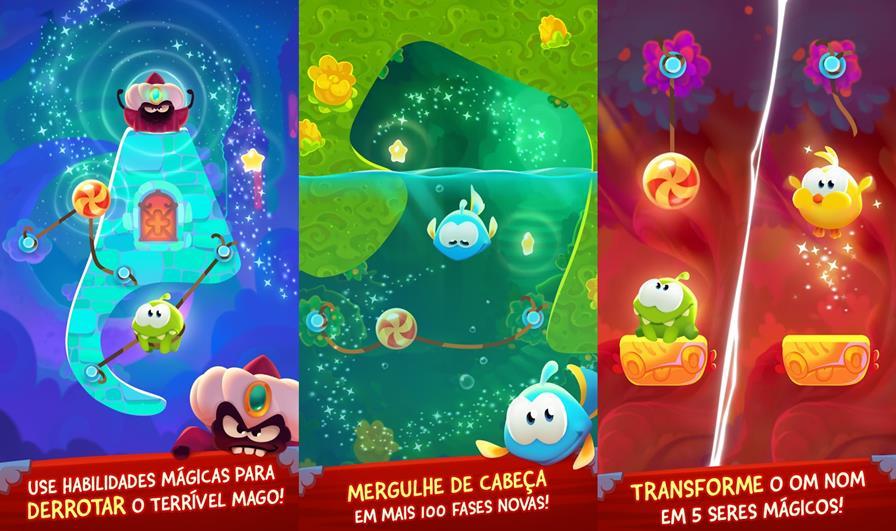cut-the-rope-magic-icone-2-horz 100 Melhores Jogos Offline Grátis para Android