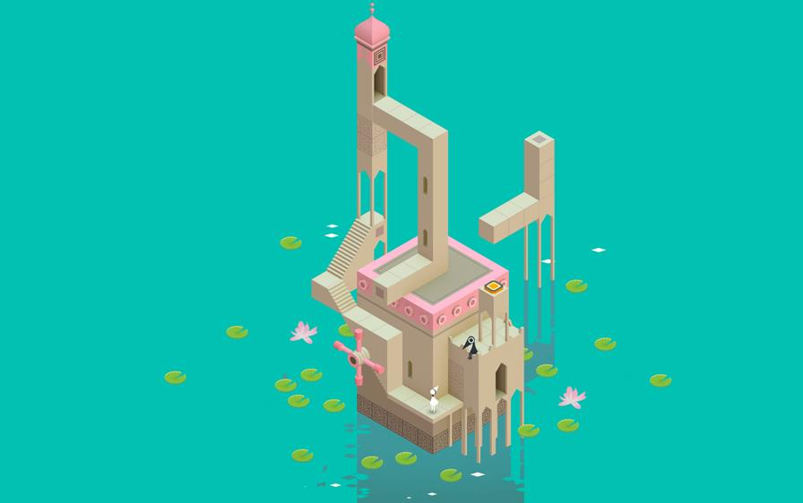 monument-valley-wallpaper Monument Valley, AirTycoon 2 e mais: Veja jogos pagos que estão de graça no iPhone