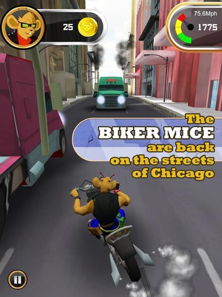 ratos-motoqueiros-de-marte-android-ios Desenho animado 'Ratos Motoqueiros de Marte' ganha jogo para Android e iOS