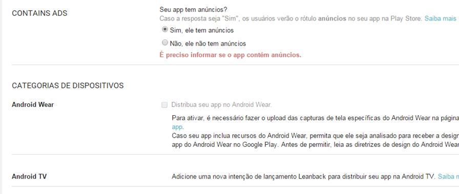 anuncios-android-google-play Google Play prepara notificação que informa que um app/jogo contém anúncios