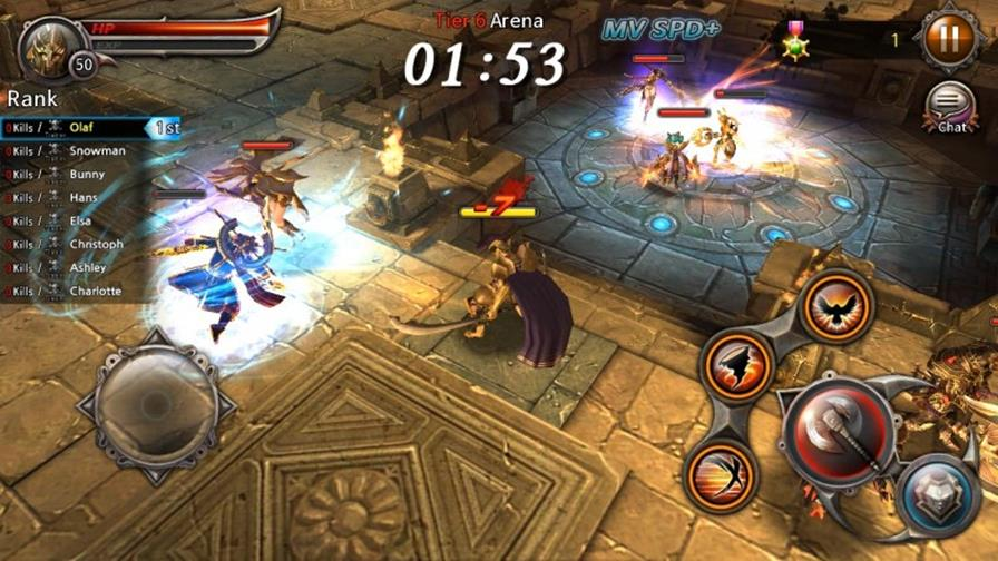 bladeswordofelysion-1 Blade Sword Of Elysion: hack'n slash com gráficos incríveis no Android e iOS