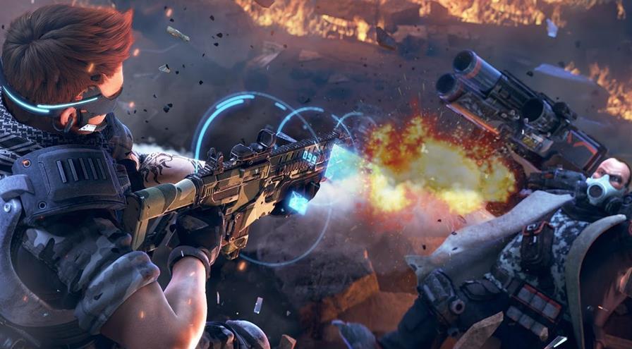 fusio-war-android-ios Fusion War: tiroteio, garotas e chefes incríveis neste game para Android e iOS