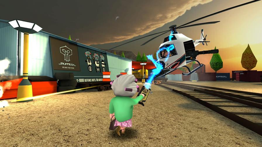 gangstar-granny-3-android-ios A vovó bandida está de volta em game offline para Android e iOS