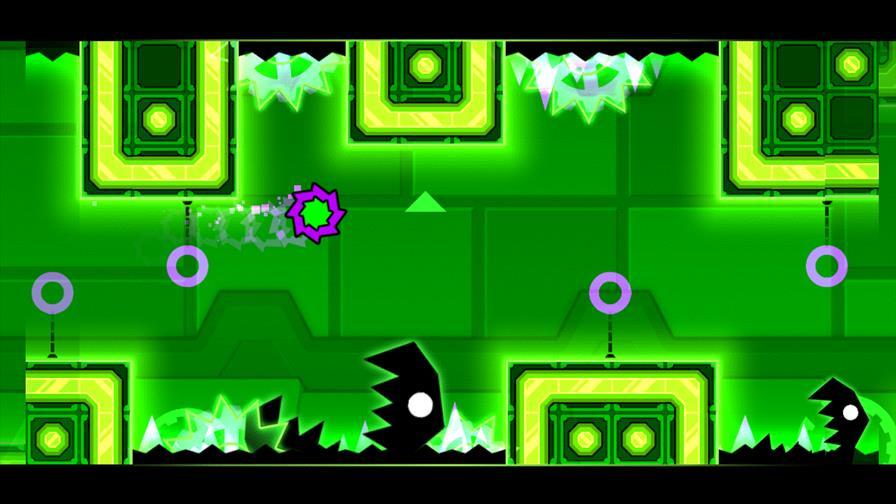 geomatry-dash-mealtdown Geometry Dash Meltdown é o novo jogo dos cubos saltitantes