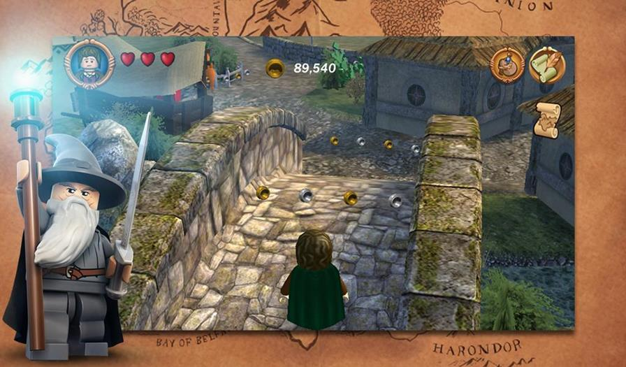 lord-of-the-rings-android LEGO The Lord of the Rings finalmente chega ao Android