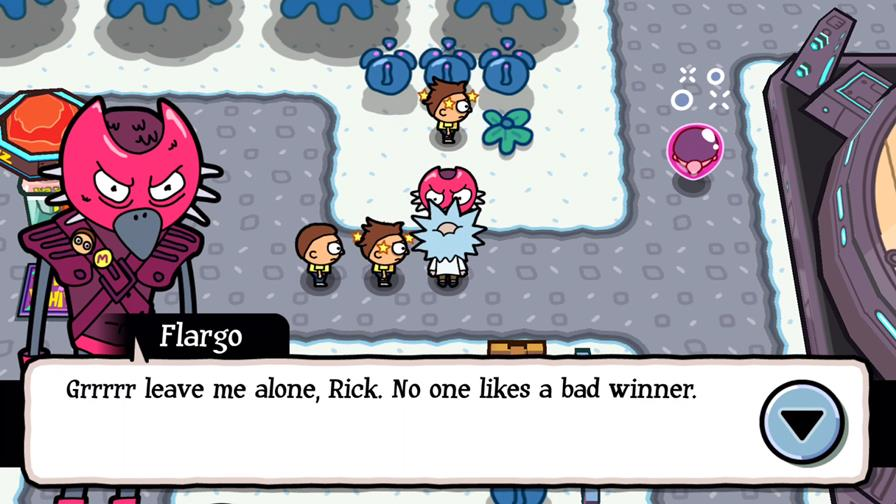 pocket-mortys-android-ios Pocket Mortys é um Pokémon bizarro para Android e iOS