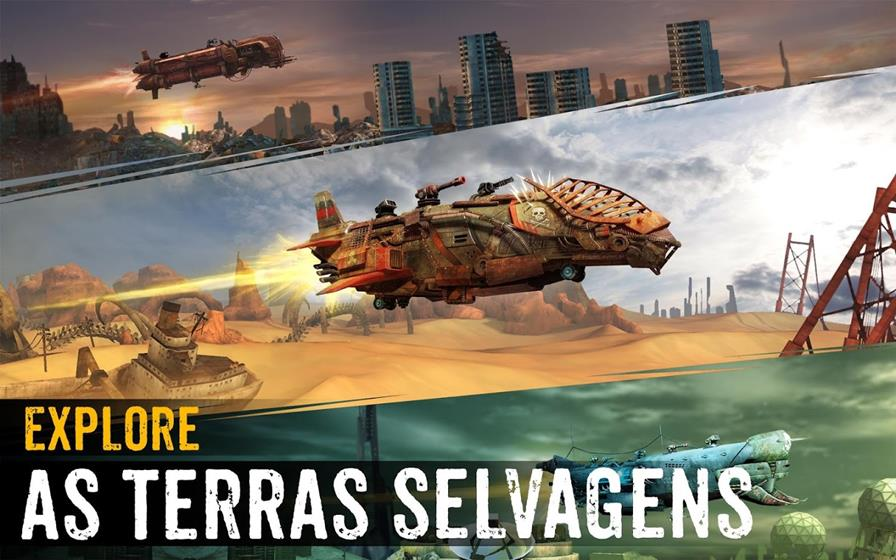 sandstorm-pirates Ubisoft lança Sandstorm: Pirate Wars para Android e iOS