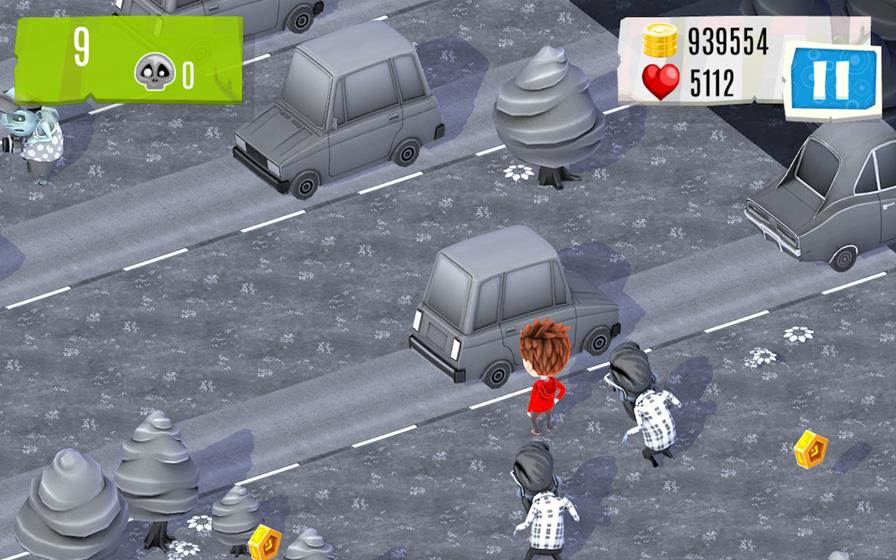 watchoutzombies-android Desvie de zumbis em Watch out Zombies (Android)