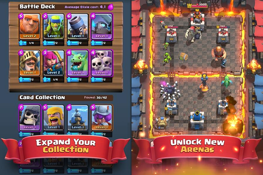 Clash-Royale-Android-Game-1-horz Com personagens de Clash of Clans, Clash Royale chega em março (Android e iOS)
