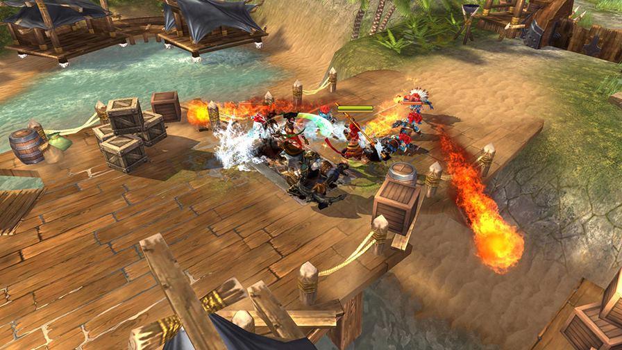 Heroes-of-Skyrealm-Android-Game-4 Heroes of Skyrealm é mais um game incrível que chega ao Android e iOS em breve