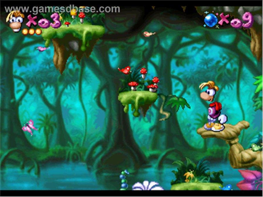 Rayman1995Ubisoft Rayman Original está disponível para iPhone e iPad