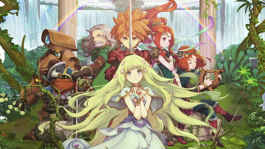 adventure-of-mana-android-ios Adventures of Mana, remake de Mystic Quest está disponível para Android e iOS