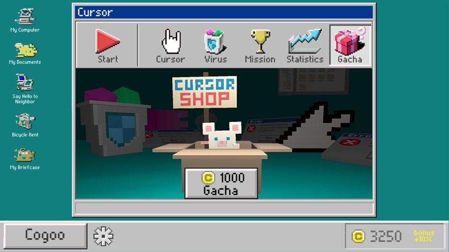 cursor-virus-windows95-2 Enfrente vírus de computador dos anos 90 neste game para Android e iOS