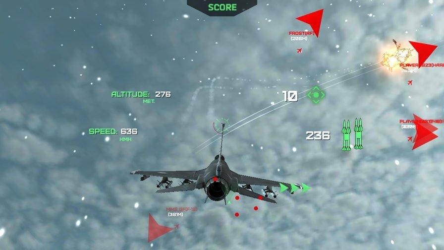 modern-warplanes-android Modern War Planes é um Jogo de Aviões com Foco no Modo Versus