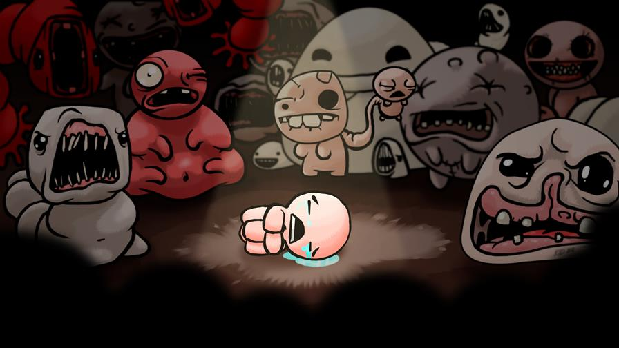 the_binding_of_isaac_wallpaper_by_thekid221-d5ovlnt Veja Binding of Isaac rodando no iPhone