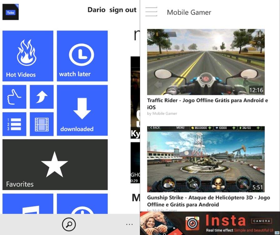 windows-phone-youtube 5 Coisas que o Windows Phone/Windows 10 Mobile faz Melhor que o Android