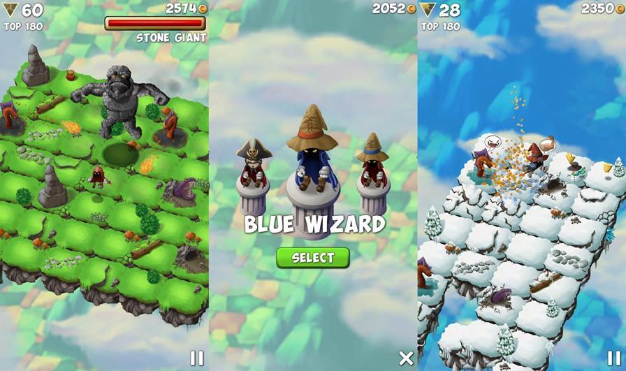 Sky-Hop-Saga-Android-ios Sky Hop Saga é um jogo arcade onde é preciso coletar o chão