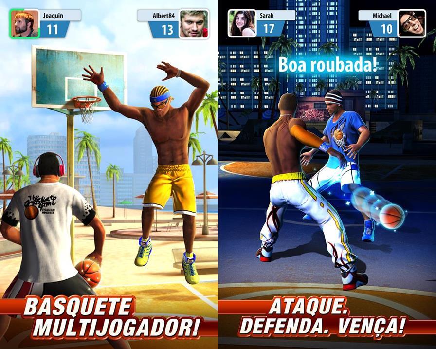 baskerball-stars-gameplay-android Melhores Jogos para Android da Semana #12 - 2016
