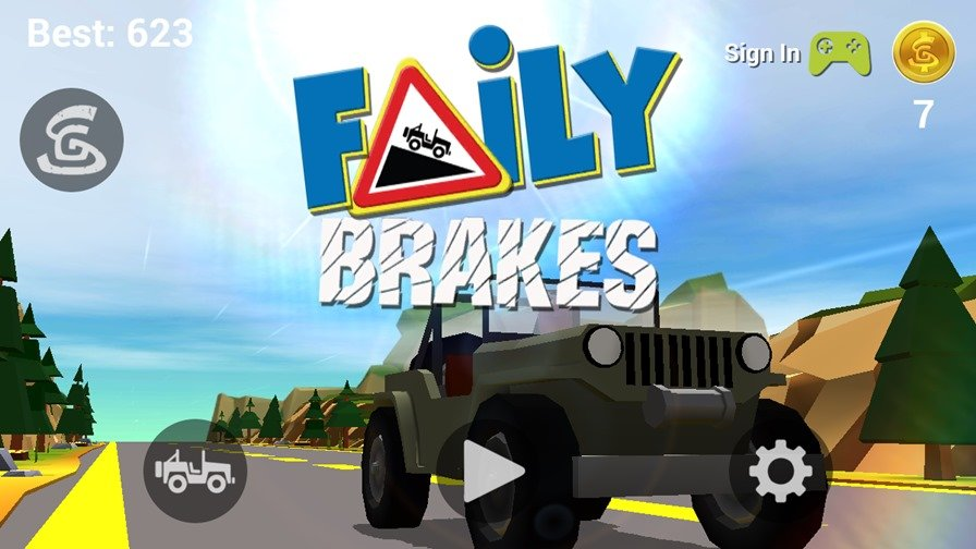faily-brakes-Android-ios Spunge Games lança Faily Brakes para Android e iOS