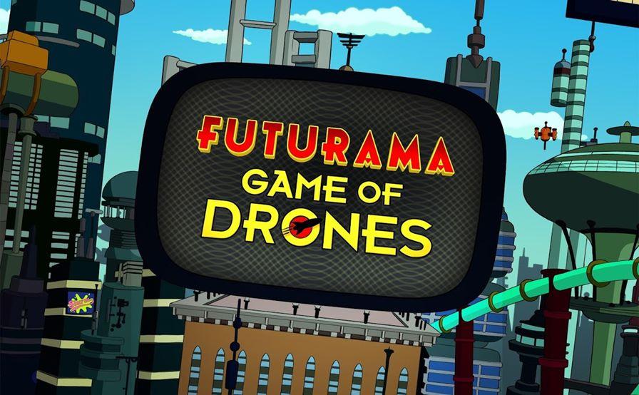futurama-game-of-drones-1 Jogo para celular da série Futurama não é tão ruim assim