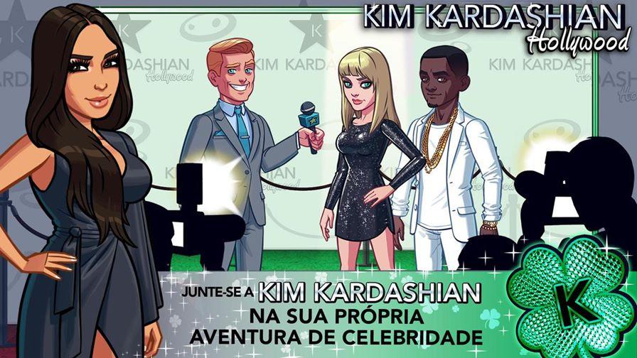 kim-kardashian-hollywood-android-ios Kim Kardashian recebe pagamento de US$ 80 milhões por jogo de celular da GLU Mobile